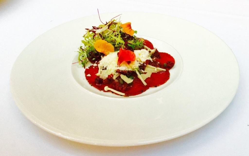 The Art School - Lakeland venison carpaccio - Liverpool restaurants