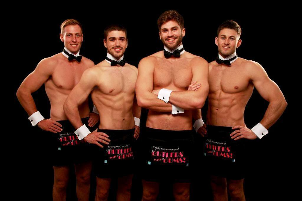 Butlers in the buff - Hen party Liverpool