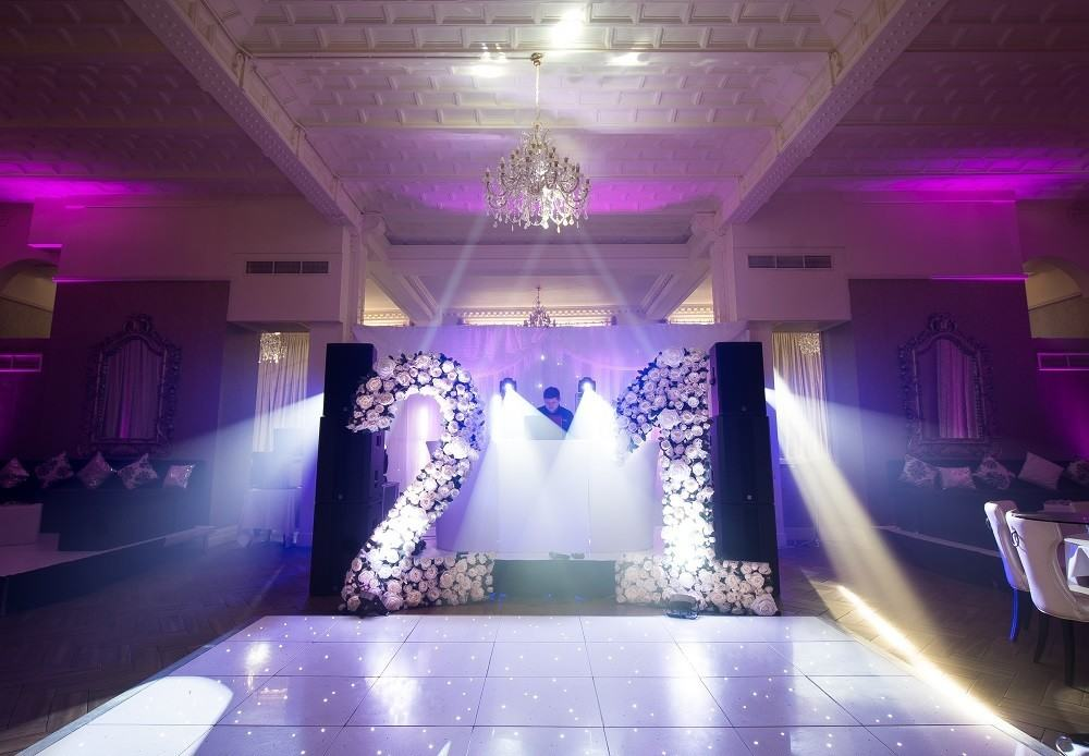 Book your 21st birthday in liverpool with signature living for 21st birthday hall decoration ideas