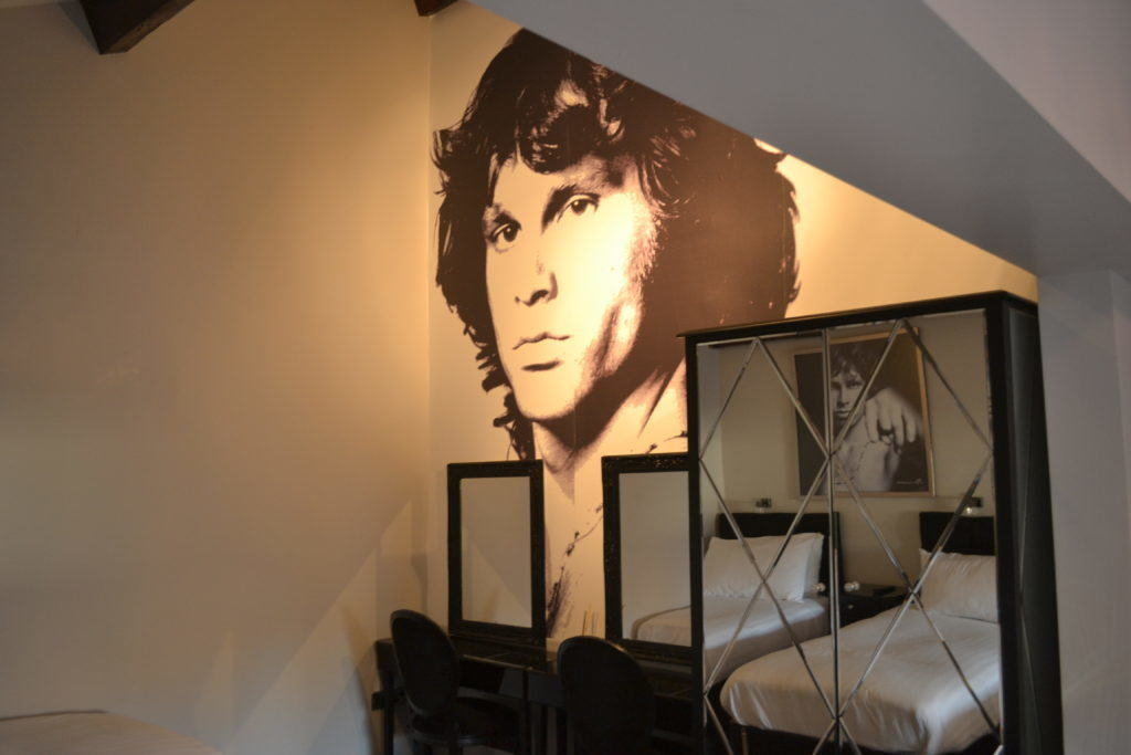 Jim Morrison - Liverpool party apartment