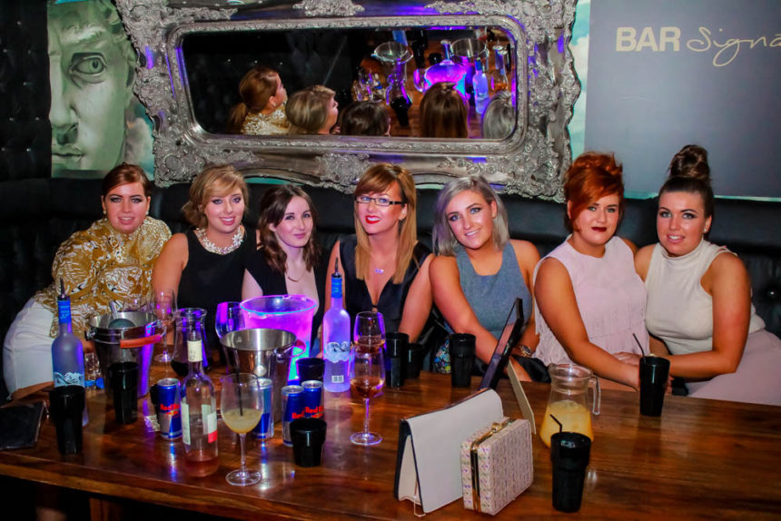 Bar Signature party in Liverpool