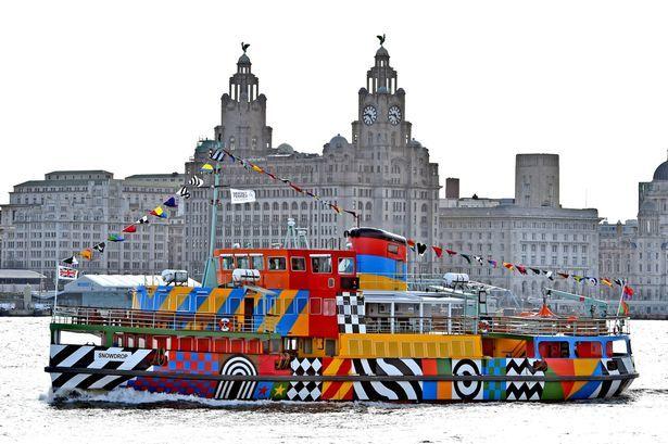 Razzle Dazzle ferry