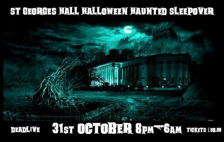 Halloween Haunted Sleepover & Ghost Hunt
