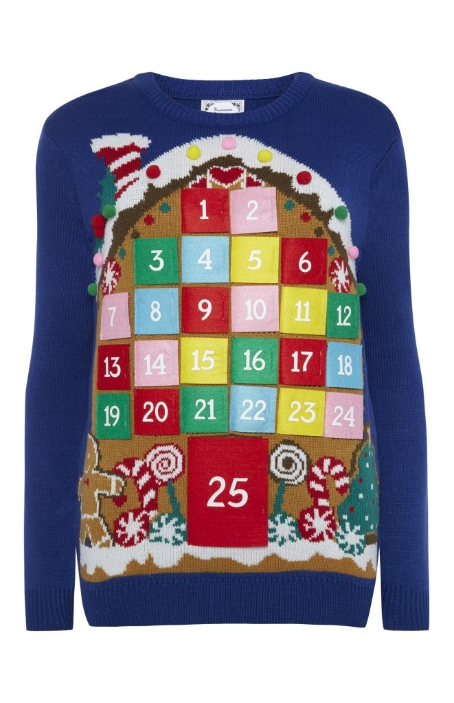 advent calendar christmas jumper