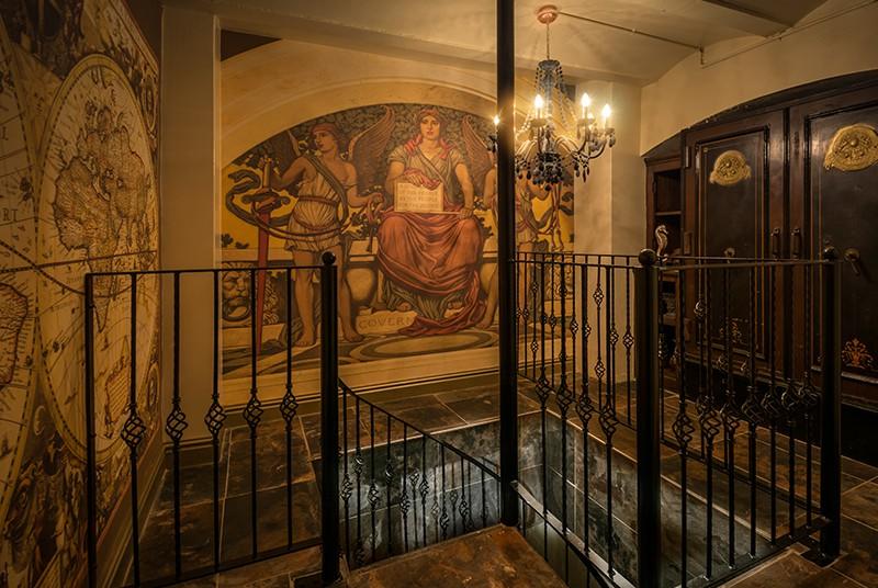 Secret Entrance To Morgan's Vault