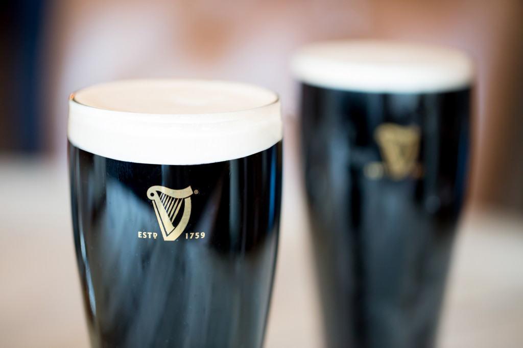 St Patricks Day Guinnes