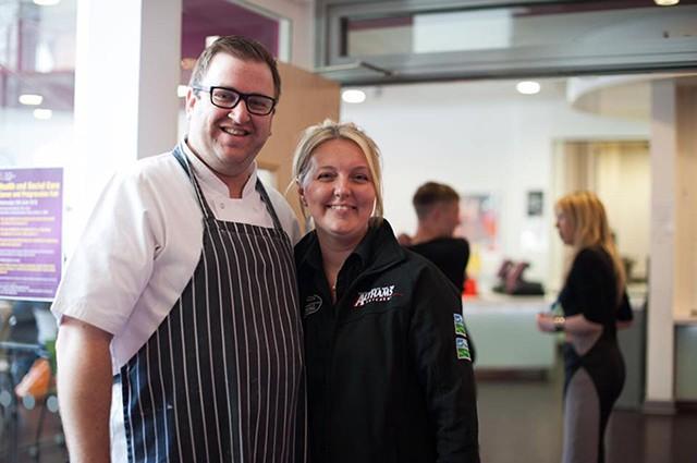 Head Chef Matt Cox at the Open House Event