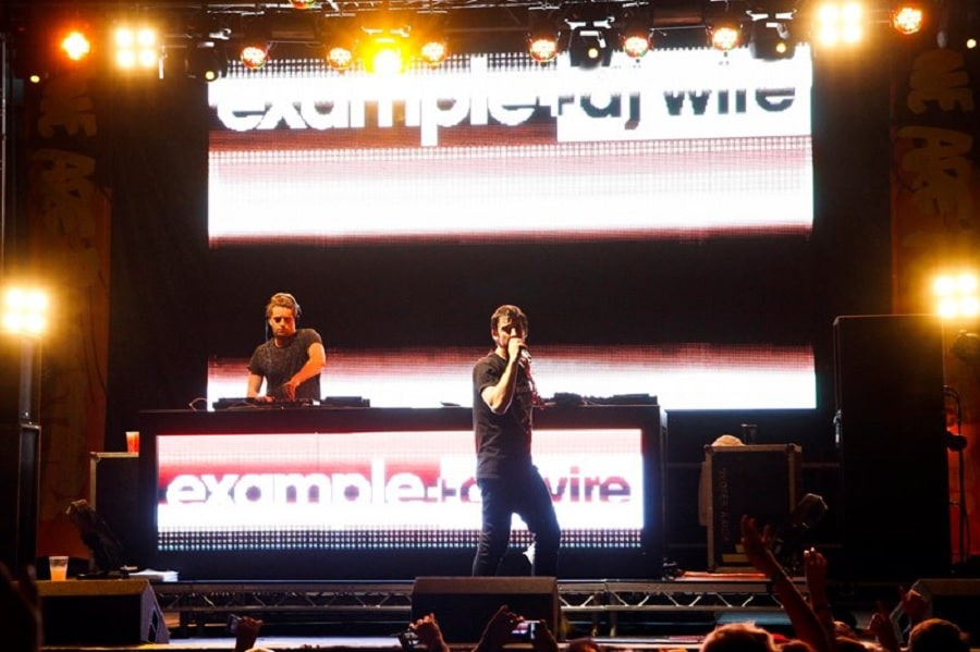 Example and Dj Wire - LIMF hotel rooms Liverpool