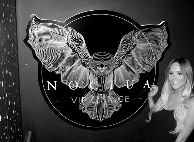 Charlotte Crosby at Noctua