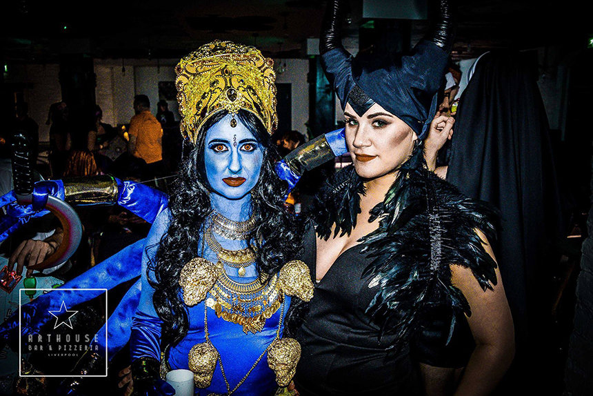 Hollyoaks Halloween at Arthouse