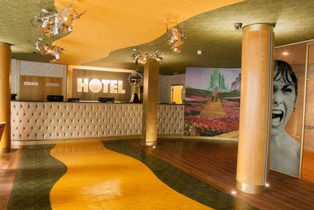 Arthouse Hotel Reception Signature Living 2016
