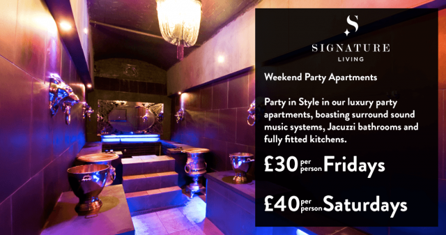 Weekend party apartments - Liverpool accommodation offers