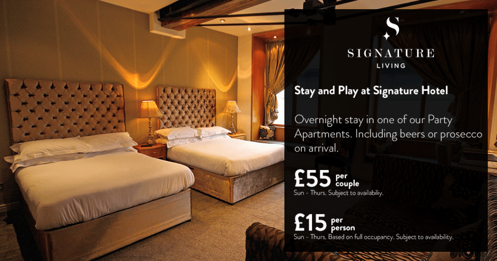 Stay and Play Sig Hotel - Liverpool accommodation offers