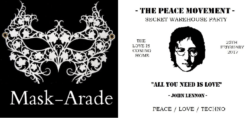 Mask-Arade and The Peace Movement - what's on in Liverpool