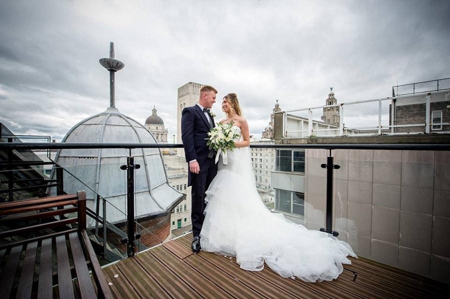 30 James Street Rooftop - Signature Living Weddings