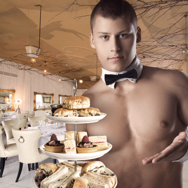 Naked butler afternoon tea Signature Living