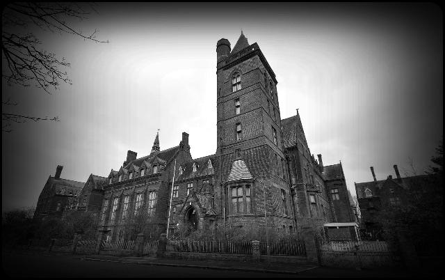 Newsham Park Hospital - Liverpool in April
