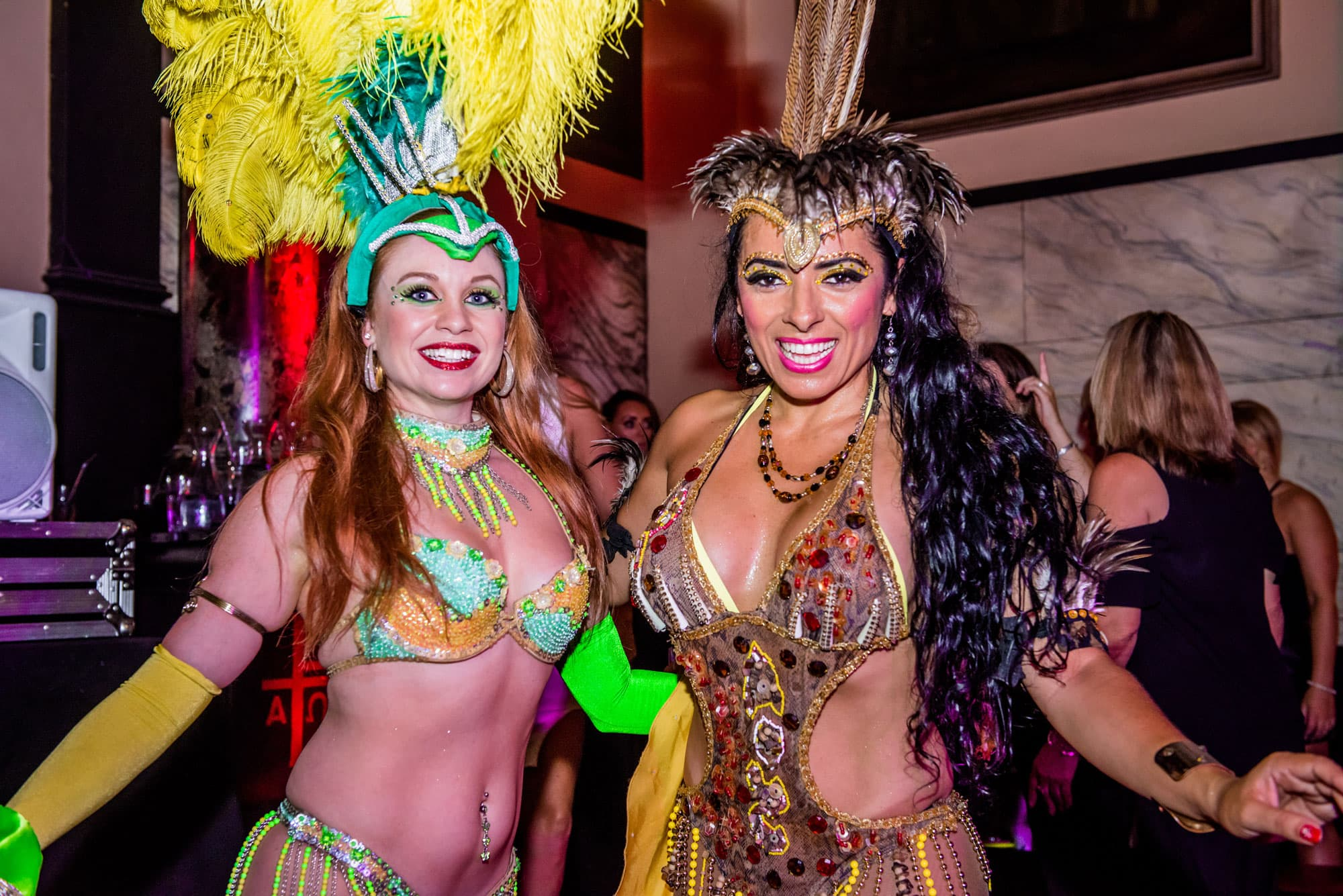 samba classes at Alma de Cuba
