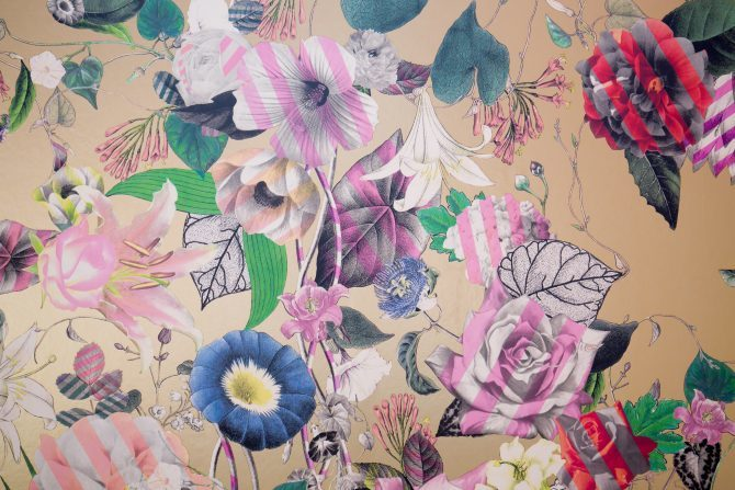Christian Lacroix wallpaper at Signature Living