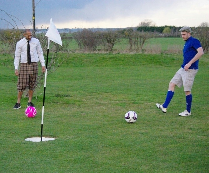 FootGolf - stag do activities Liverpool