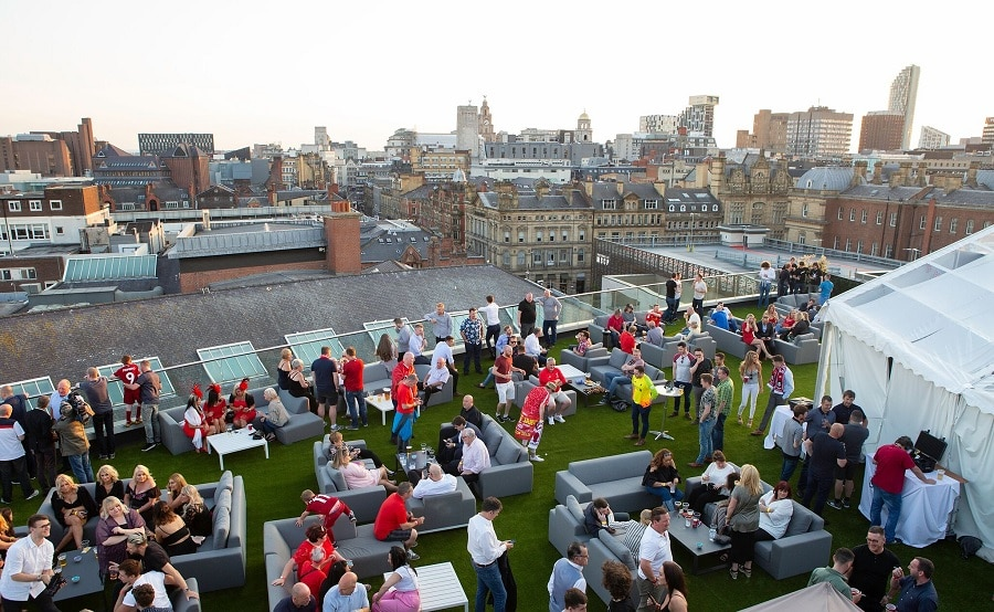 Eden Rooftop World Cup Final - events in Liverpool