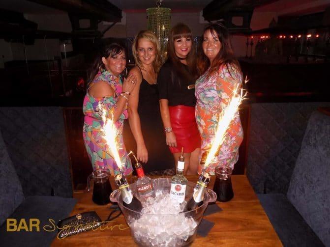 bar booths in Liverpool - Bar Sig