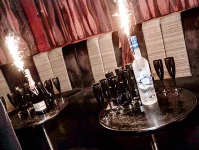bar booths in Liverpool - Empire