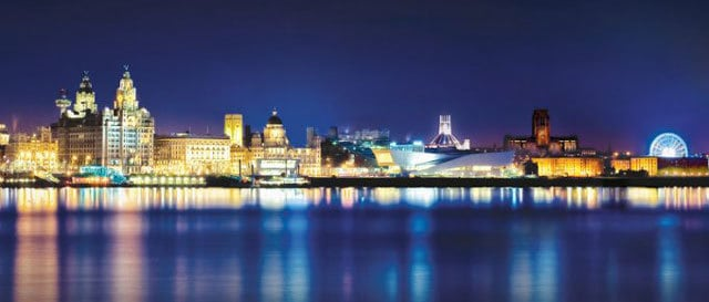 Liverpool accommodation - city skyline