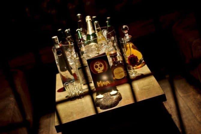 bar booths in Liverpool - Maya