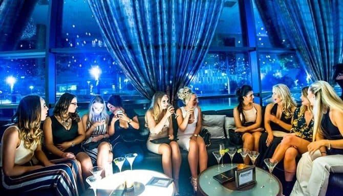 bar booths in Liverpool - Palm Sugar