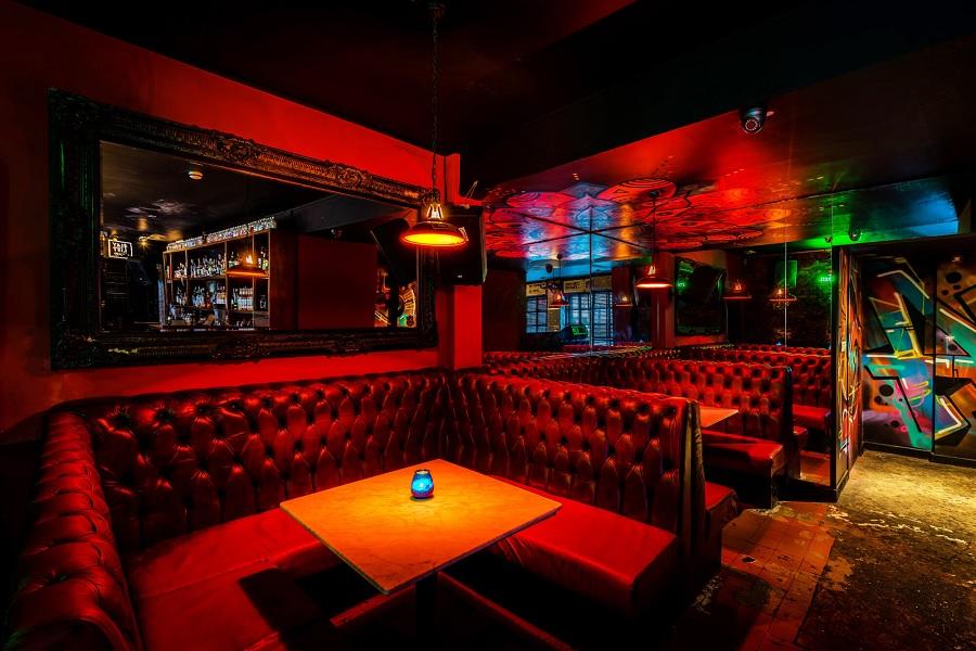 Santa Chupitos - bar booths in Liverpool