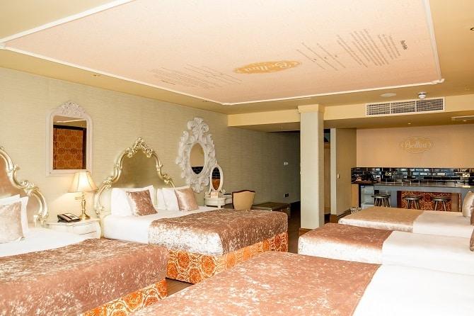 signature living hotel room bellini