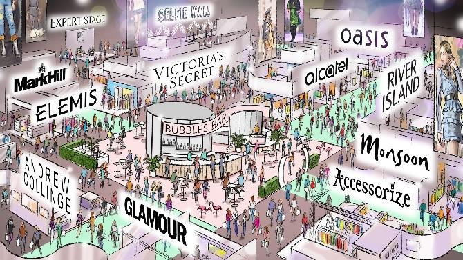 British Style Collective creative hub shopping halls
