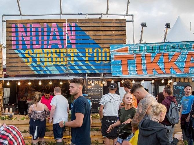 Creamfields 2017 - food vendors