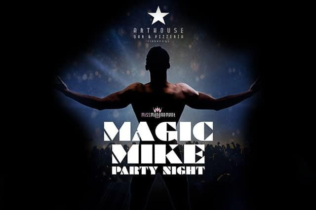 Magic Mike night Liverpool