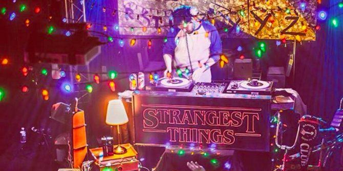 Strangest things club night