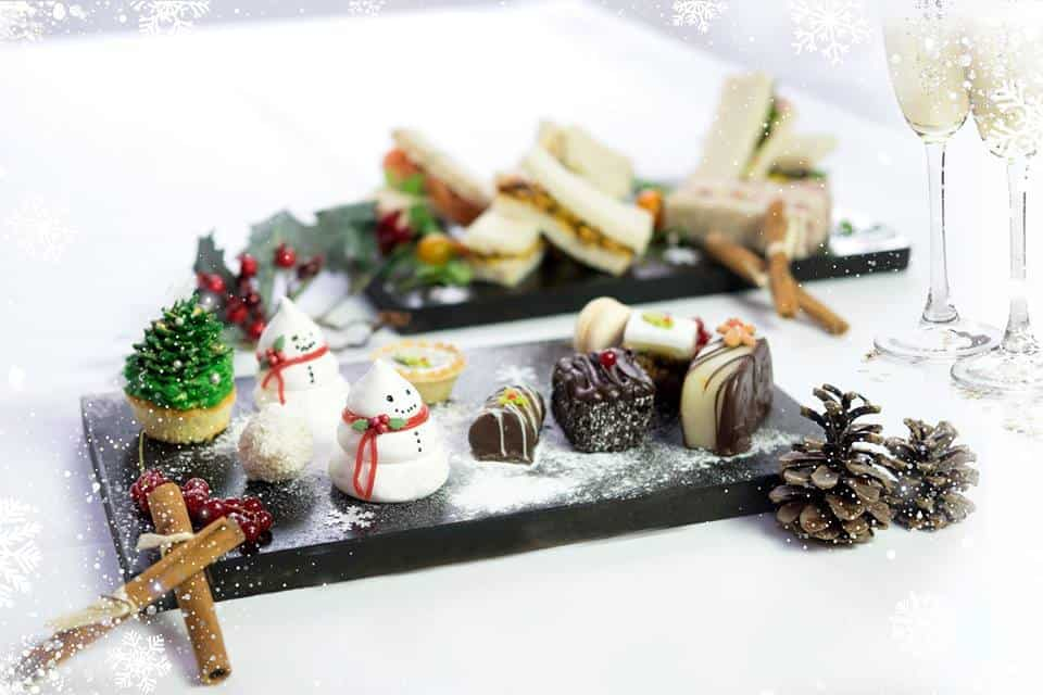 festive afternoon tea things to do in Liverpool