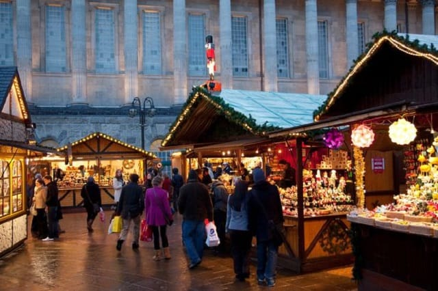 St Georges Hall Liverpool Christmas Market