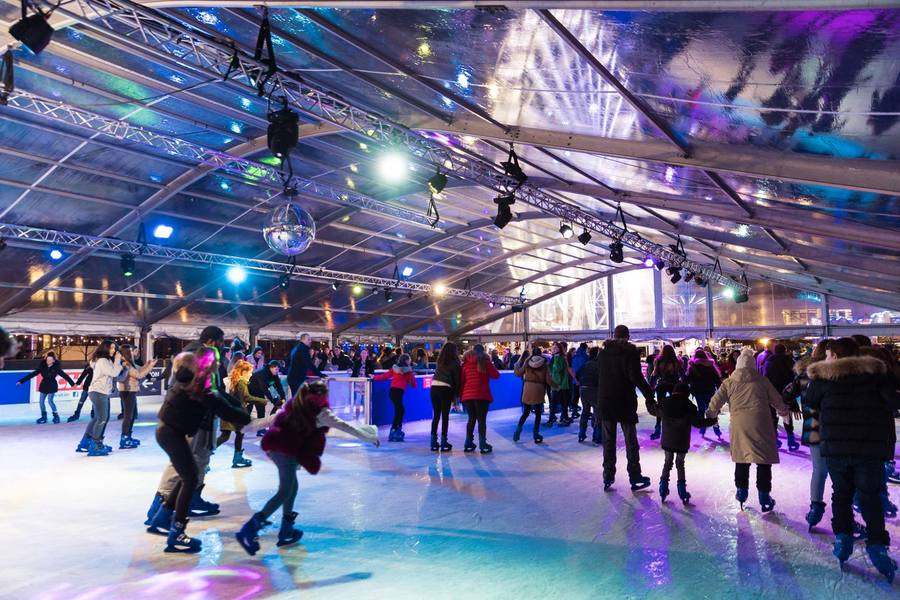 Christmas Ice Festival in Liverpool - winter hen party in Liverpool
