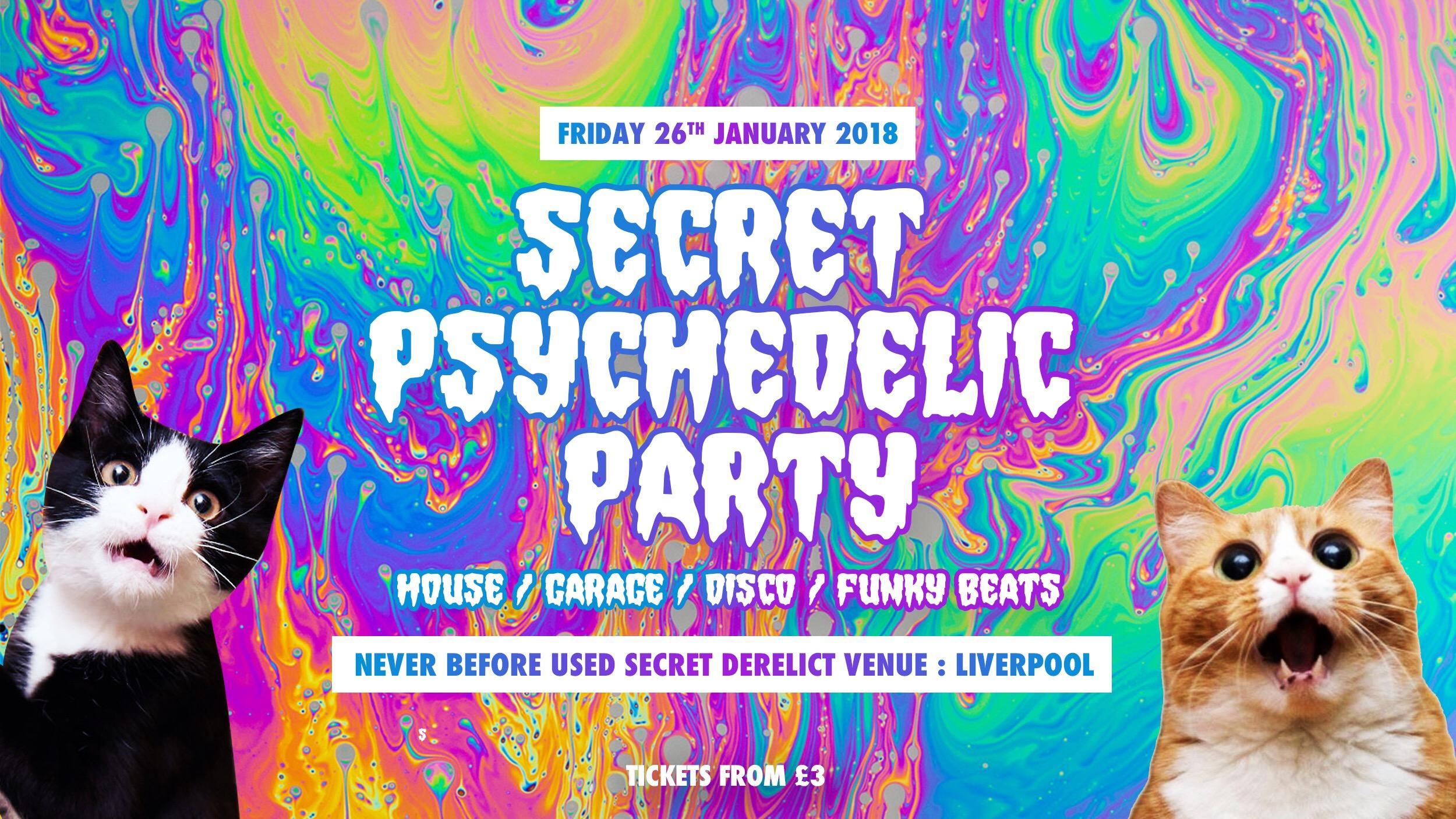 Secret Party Liverpool