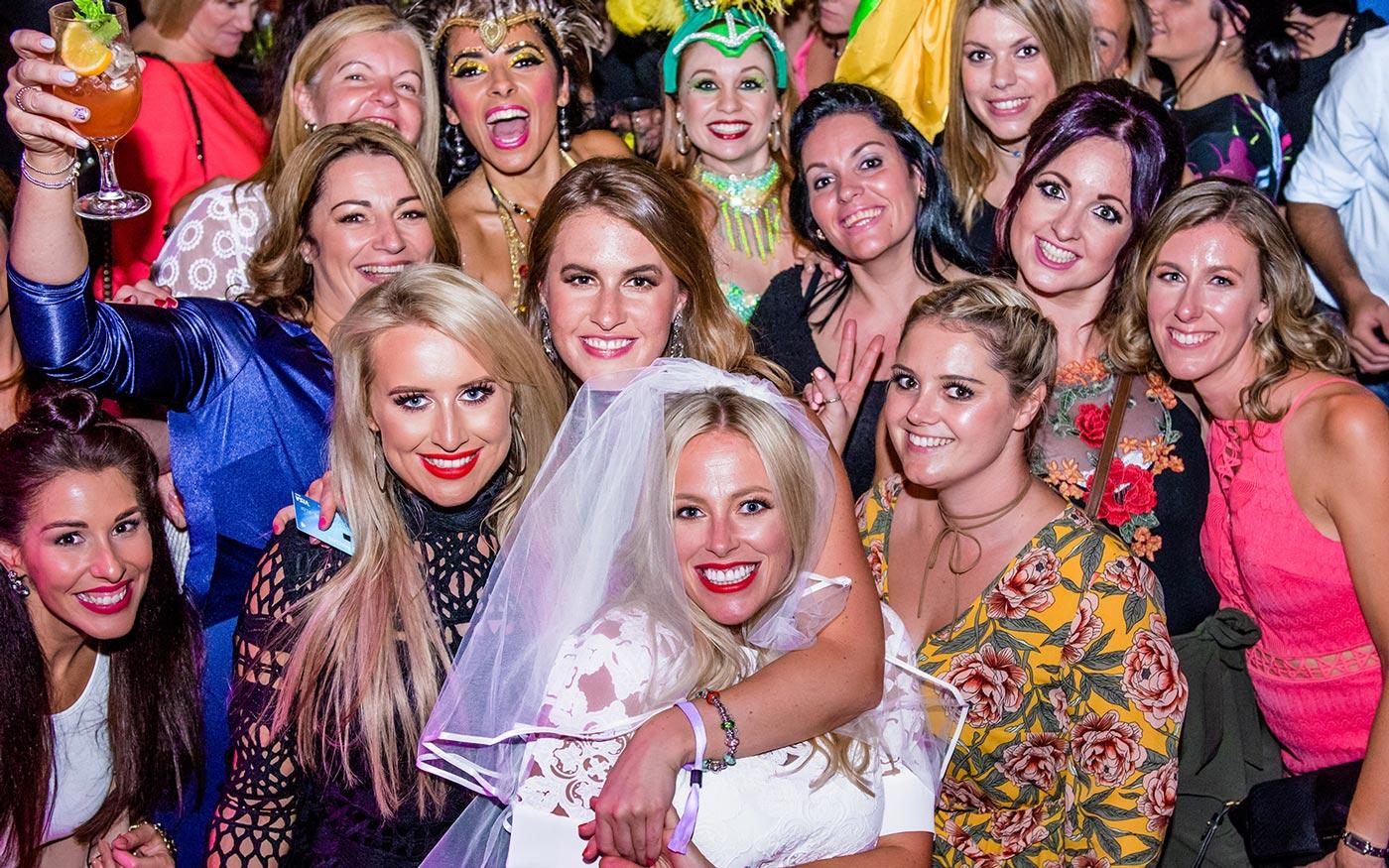 Girls last night of freedom - Hen party hotel