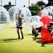 stap party in Liverpool - bubble football