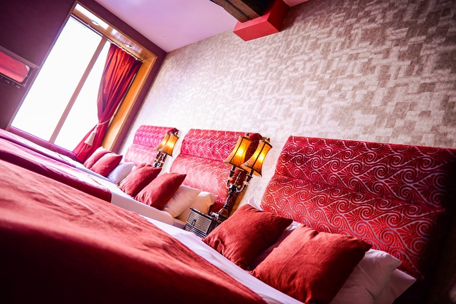 Signature Hotel Burlesque party floor - best places to stay in Liverpool