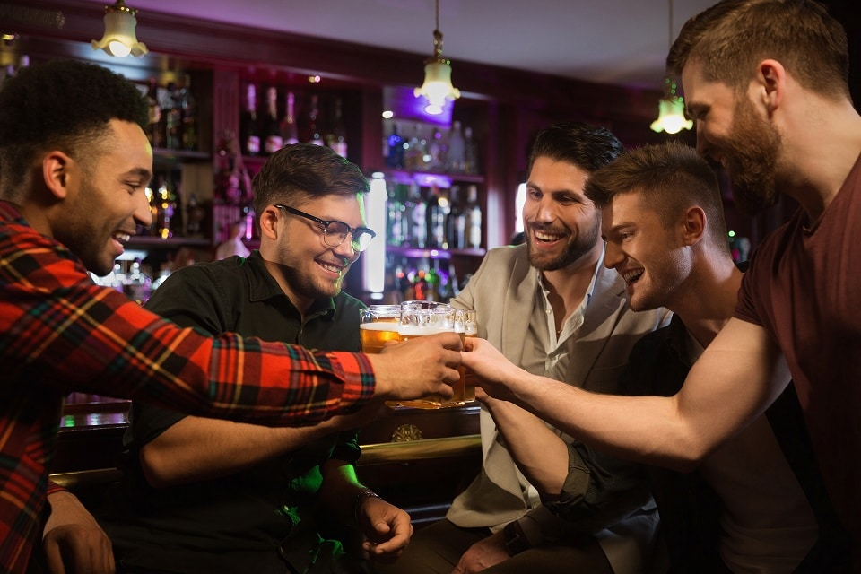 celebrate in Liverpool on the Ulitmate Boys weekend at Signature Living