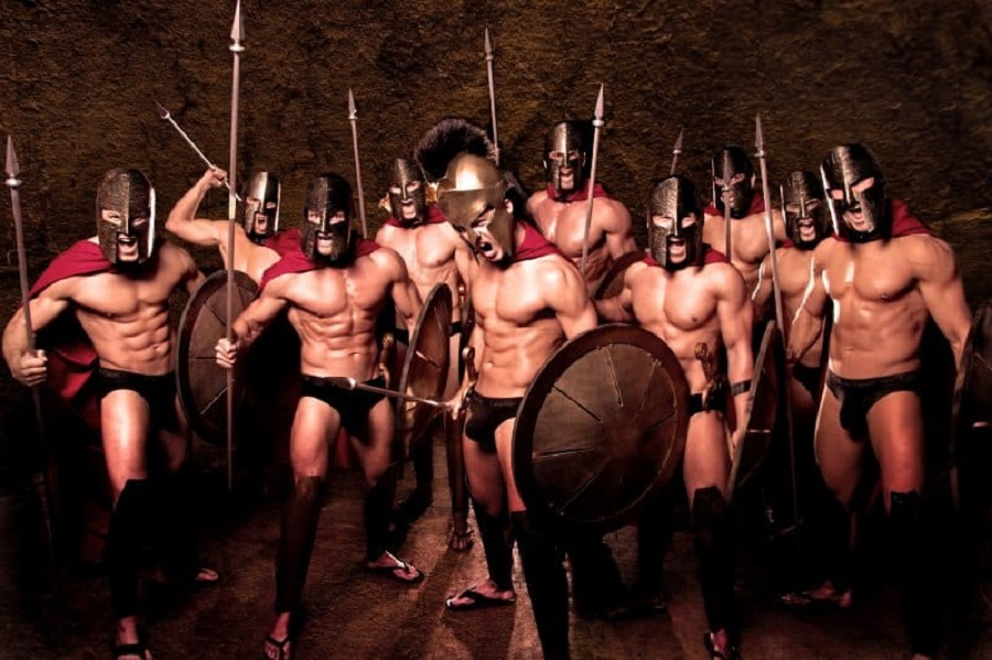 300 army - stag do fancy dress ideas