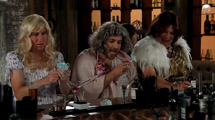 Stags in drag - stag do fancy dress ideas