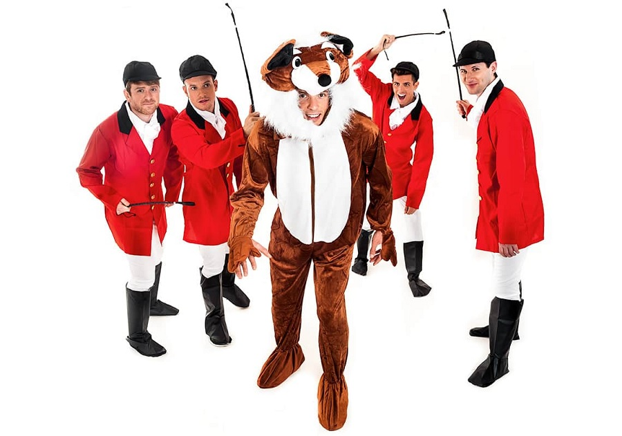 Fox hunt - funny stag do fancy dress ideas