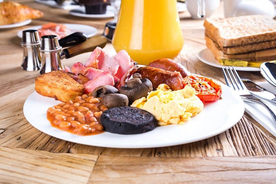 Full English breakfast - stag weekend packages in Liverpool
