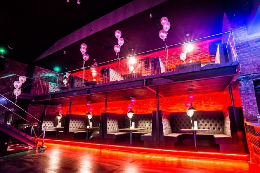 Fusion - Liverpool bar booths