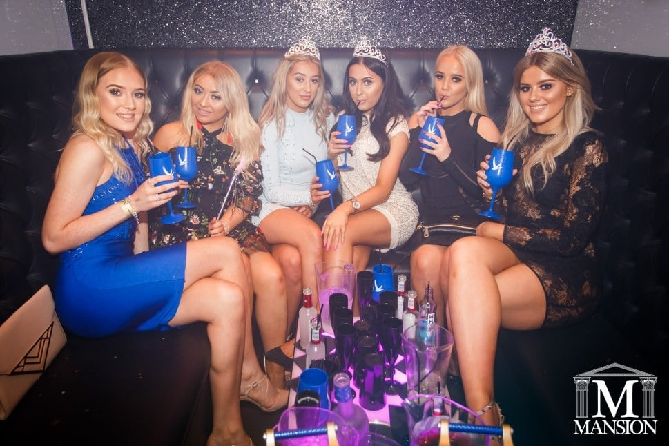 Mansion - Liverpool bar booths